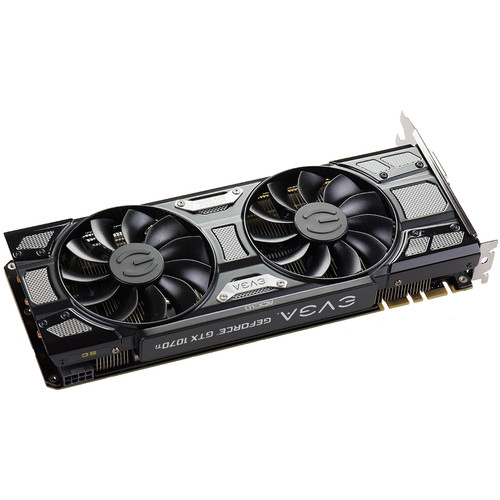 Compare EVGA GeForce GTX 1070 Ti FTW ULTRA SILENT GAMING