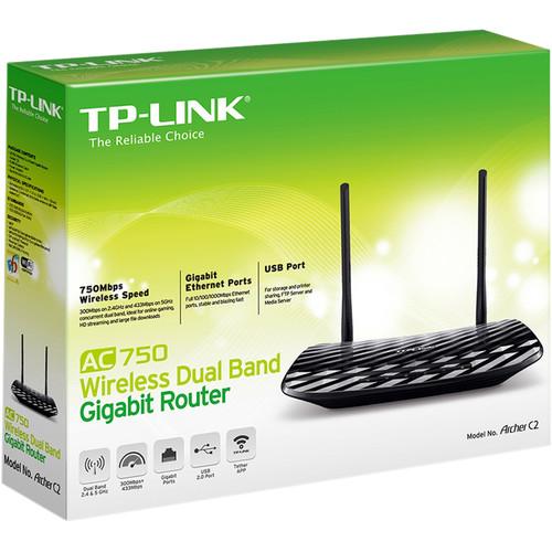Compare TP-Link Archer C7 AC1750 Wireless Dual Band Gigabit