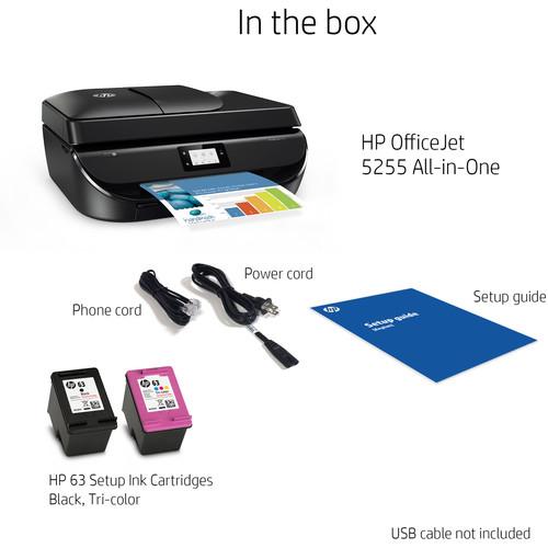 Compare HP 5255 vs HP 5055 | B&H Photo