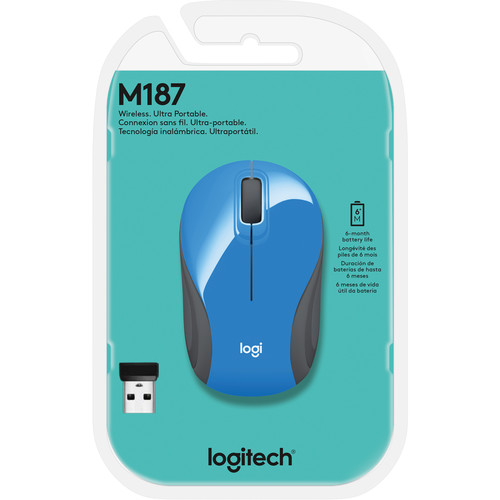 Compare Logitech M510 Wireless Mouse Blue vs Logitech M170