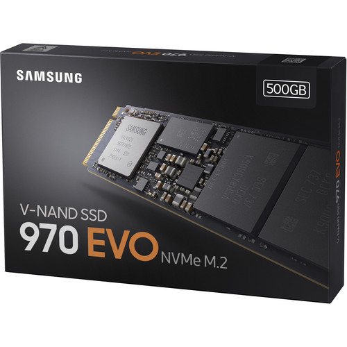 500GB 970 EVO NVMe M 2 Internal SSD