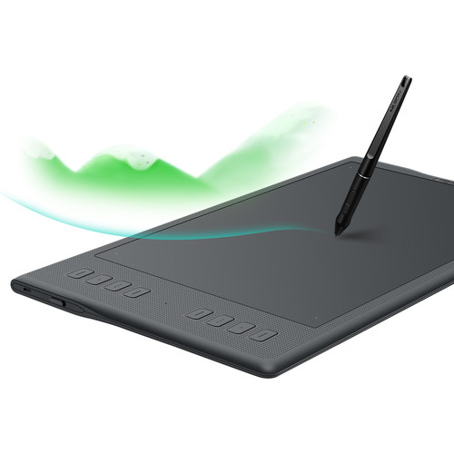 Compare Huion Inspiroy H1060P vs Wacom Intuos vs Huion Inspiroy Q11K V2