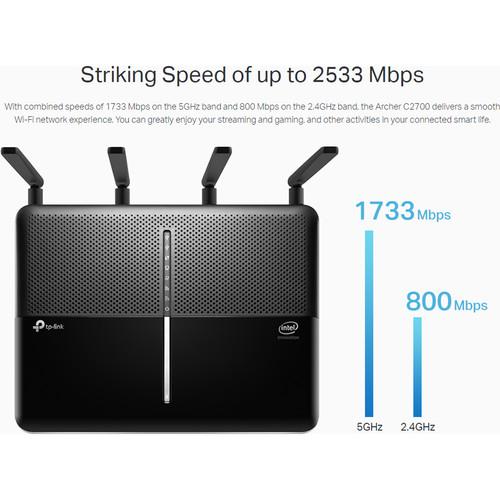 Compare Netgear R7000 vs TP-Link C2300 vs TP-Link C3150 V2