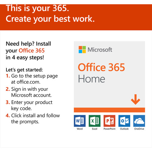 add product key to office 365 home