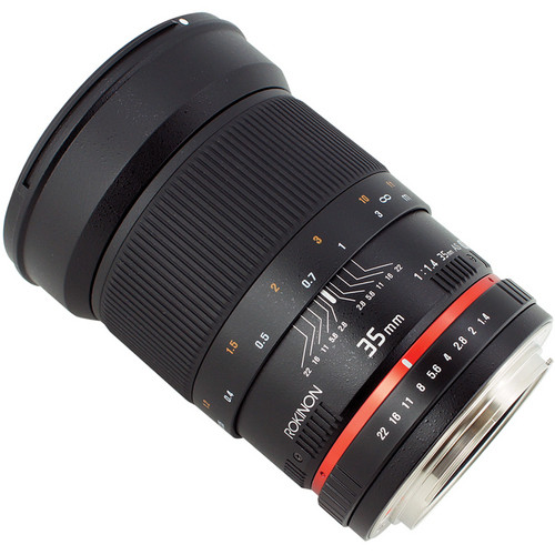 A must have lens! The Samyang 35mm f/1 4 reviewed by Ken Rockwell
