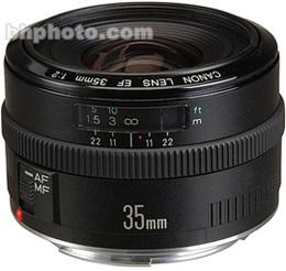 Canon Wide Angle EF 35mm f/2.0 Autofocus Lens