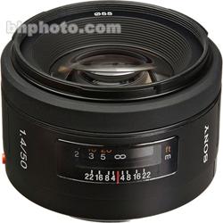 Sony SAL-50F14 50mm f/1.4 Autofocus Lens