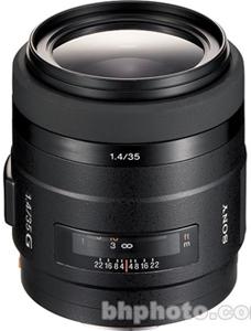 Sony 35mm f/1.4G Autofocus Lens