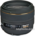 Sigma 30mm f/1.4 EX DC HSM Autofocus Lens for Olympus Digital