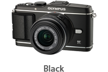 Olympus E-P3 with 14-42mm Lens (black)