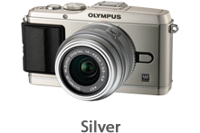 Olympus E-P3 with 14-42mm Lens (silver)