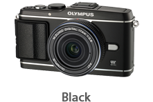 Olympus E-P3 with 17mm Lens (black)