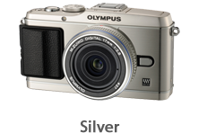 Olympus E-P3 with 17mm Lens (silver)