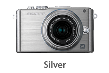 Olympus E-PL3 with 14-42mm Lens (silver)