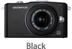 Olympus E-PM1 with 14-42mm Lens (black)