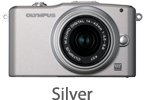 Olympus E-PM1 with 14-42mm Lens (silver)