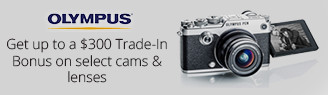 Trade-In and Upgrade Your Olympus Gear