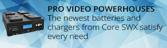 Core SWX Batteries for Pro Video