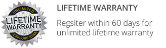 Unlimited Lifetime Warranty