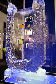 Olympus on Ice… or is it 'in' Ice?