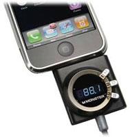 Monster Cable iCarPlay Wireless 250 FM Transmitter