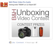 B&H on Facebook