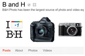 B&H on Google+