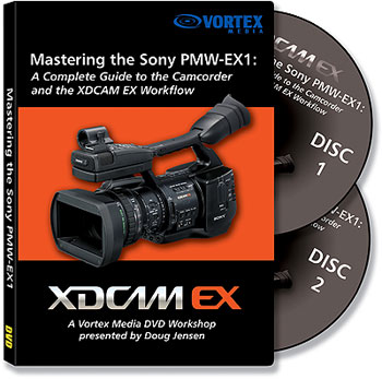 Coming soon is Doug's latest informative DVD Guide, this one on the Sony PMW-EX1
