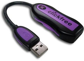 clickfree Transformer Backup Device