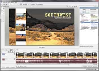 Sony Vegas Movie Studio 9 Screenshot